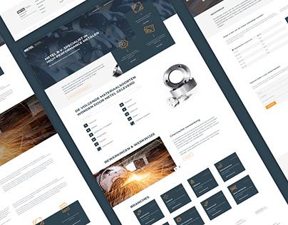 Metel Bijzondere metalen en componenten   Website