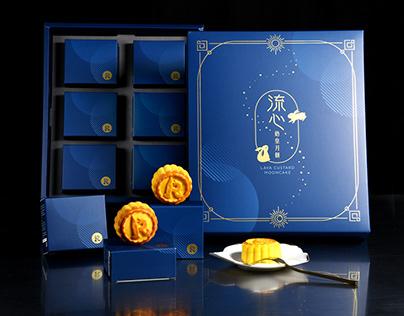 流心奶皇月餅禮盒 商品攝影