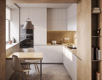 C apartment - kitchen