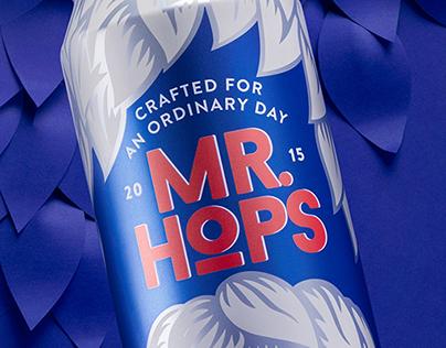 Craft beer MR. HOPS