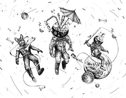 TRAVELERS / illustrations