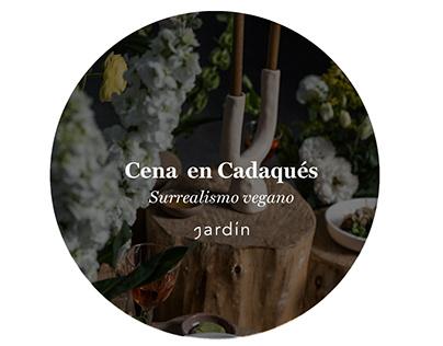 Cena en Cadaqués - Dirección de arte.