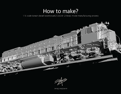 how to make?? (1:16 locomotive scale model)