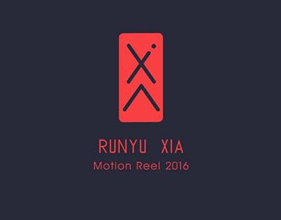 Motion Reel 2016