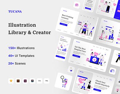 Tucana Illustration Library