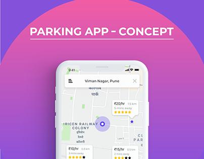 """Parking App """"Concept"""""""