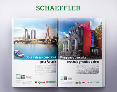 Schaeffler - Magazine Ads and Infographics