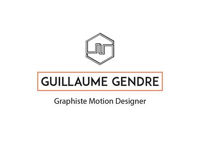 Guillaume GENDRE - Personnal Branding Identity 2017