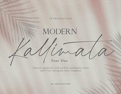 Modern Kallimata