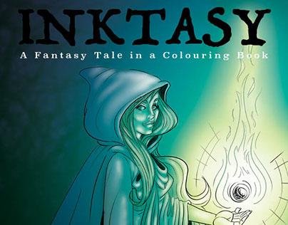 Inktasy Colouring Book