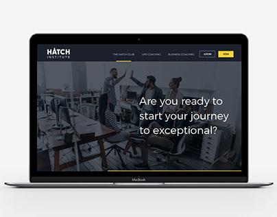 Hatch Brand Identity and Website Design