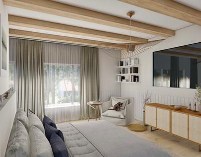 Yatak Odası Render | Bedroom Render