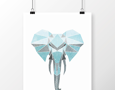 Geometric Animal Design