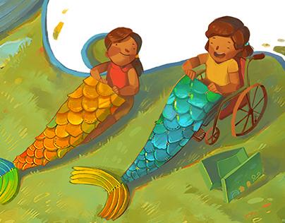 """Ang Best Friend Kong Sirena """"My Mermaid Best Friend"""""""