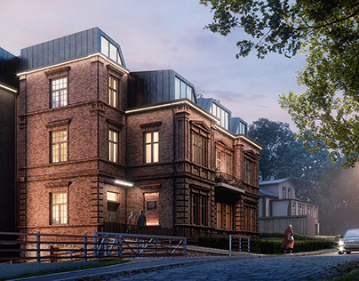 Property CGI | Historical and contemporary apartments