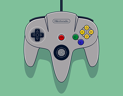 Bold Gaming Controller Illustrations