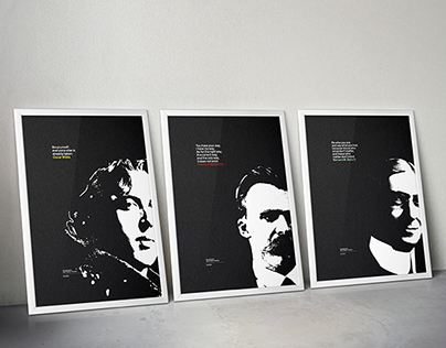 Great Minds: philosophy posters