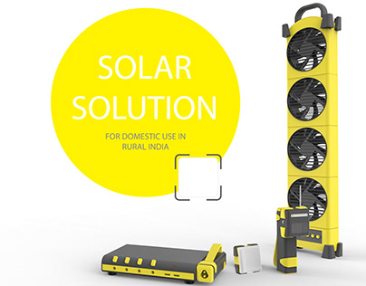 Solar Solution for Domestic needs in Rural India
