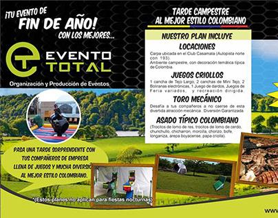 Banner publicitario para Evento Total