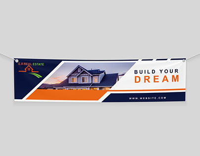 Sky Banner for real estate company