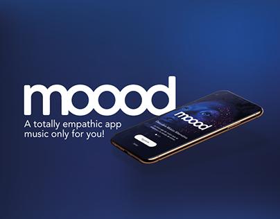 MOOOD APP MUSIC - UX/UI DESIGN