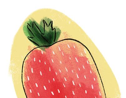 Strawberry woman