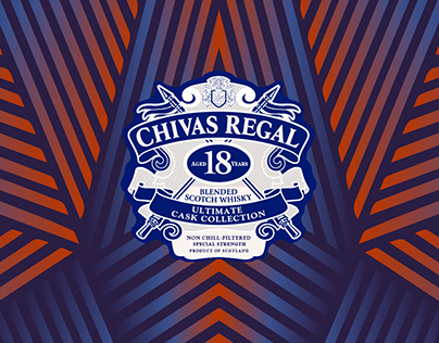 CHIVAS REGAL - PACKAGING DESIGN
