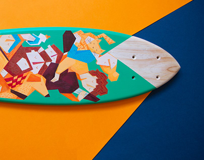 Quarantine Skateboard - Collab with Ayma Boards.
