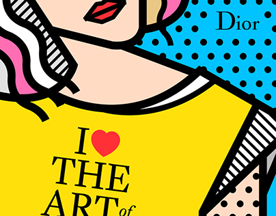 Dior | illustrations for Snapchat Geofilters