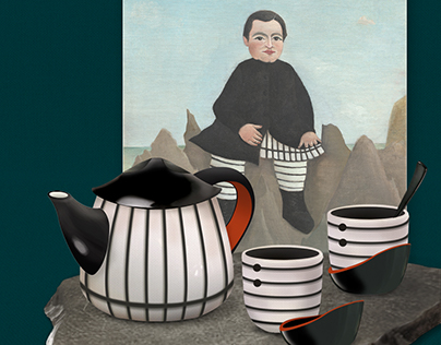 Rousseau Inspired Tea Set Design