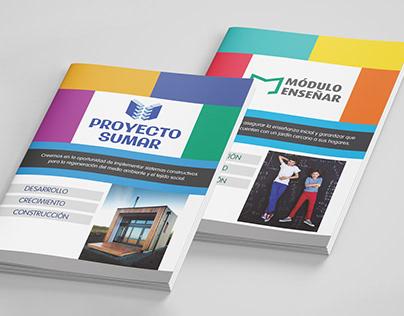 Diseño editorial - Brochures
