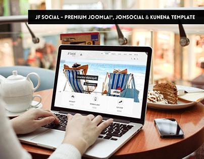 JF Social - Premium Joomla, JomSocial & Kunena Template