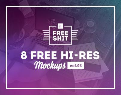 #FreeShit vol.3 - 8 Free Hi-Res iPhone & MacBook