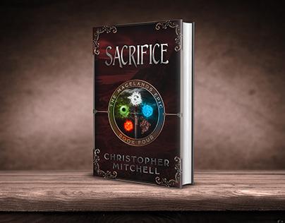 Scrifice book cover design