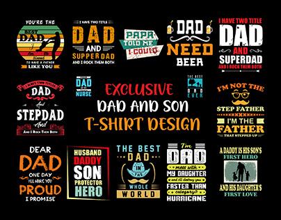 DAD & SON CUSTOM T SHIRT DESIGNS