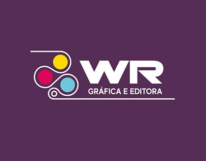 Vinheta promocional Wr Gráfica e Editora