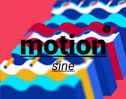 motion 2 - sine