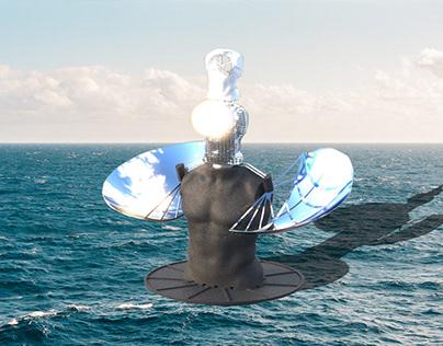 Solar Desalination Sculpture