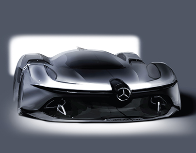(Process) Mercedes-Benz 2040 W196R Streamliner