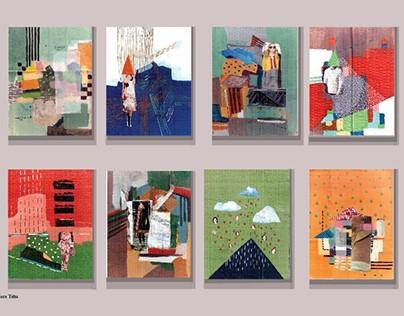 feminism collage art