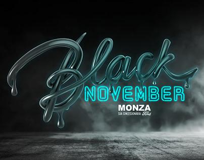 Black November Ford Monza