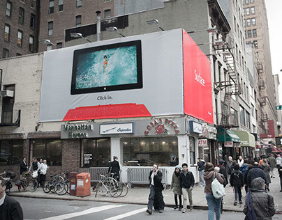 Microsoft Surface Outdoor Campaign