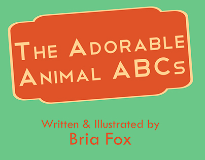 The Adorable Animal ABCs - Illustrated Children's Book