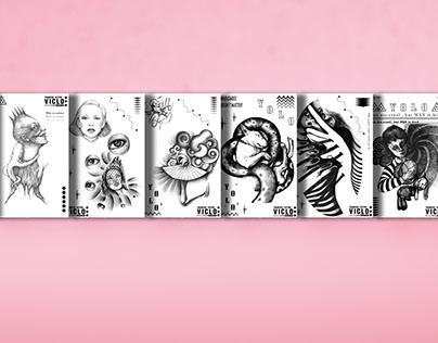 Transfer Tattoo- Illustration