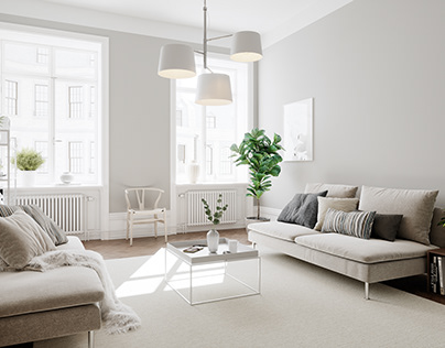 Scandinavian Apartment for BY Rydens #4