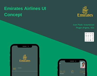 Emirates Airlines Concept