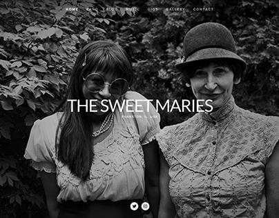 The Sweet Maries - Website