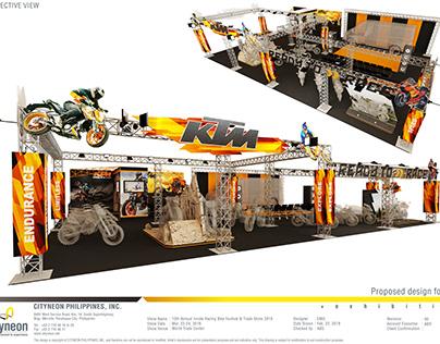 KTM Booth (18m x 12m) 2019