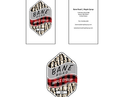 Bane Road Maple Syrup Logo