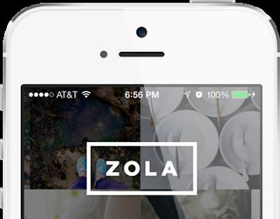 Zola Registry iOS App